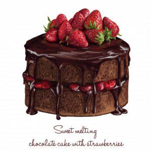 עוגה מטפטפת