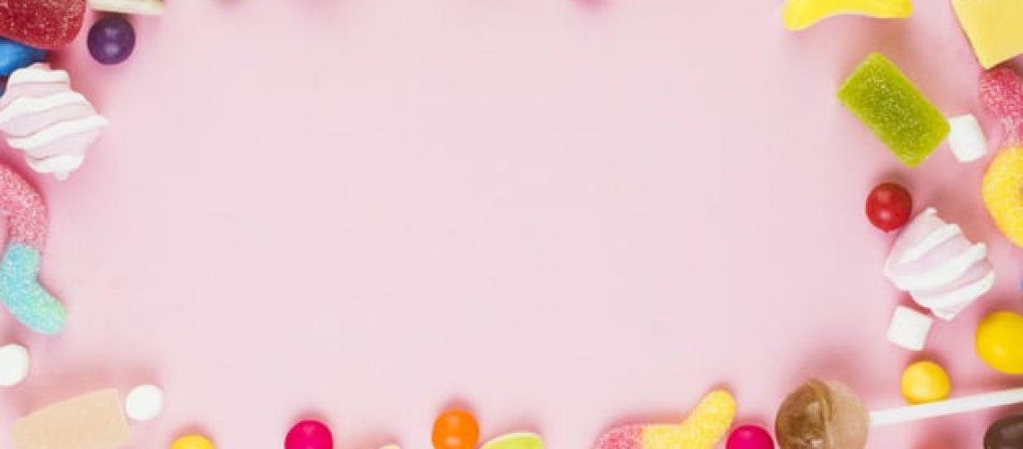 רקע ממתקים